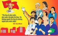 """""""Mỗi người dân Việt Nam đều cần phải trở nên một chiến sĩ tranh đấu trên mọi mặt trận..."""""""