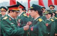 Thượng úy Lê Thị Thu Hằng - Gương điển hình học tập và làm theo Bác